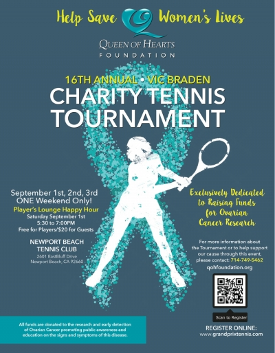 16th Annual Charity Tennis Tournament