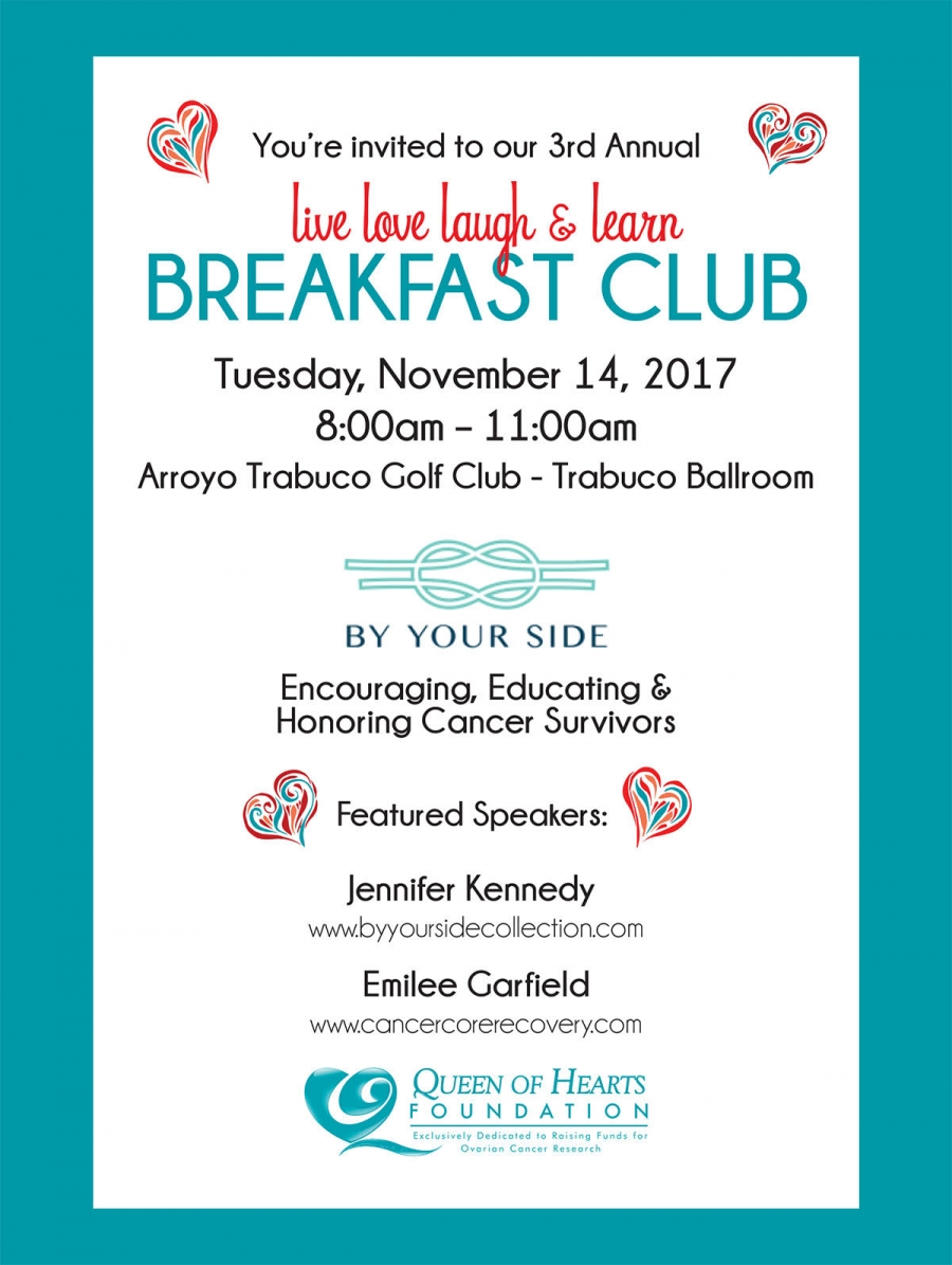 3rd Annual Live Love Laugh & Learn Breakfast Club