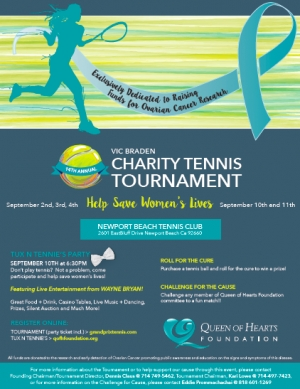 15th Annual Charity Tennis Tournament