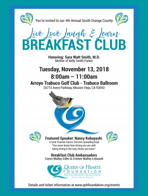 4th Annual Live Love Laugh & Learn Breakfast Club